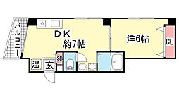 NEP三宮[303号室]の間取り
