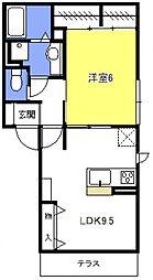 (仮称)浦和上木崎4丁目D-room[101号室号室]の間取り