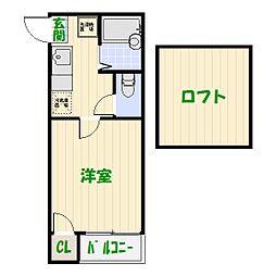 メゾネットY&A[0101号室]の間取り
