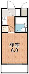 ヴェルデ阿倍野[5階]の間取り