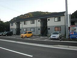 長崎県諫早市多良見町木床の賃貸アパートの外観