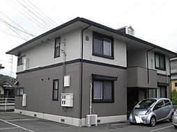 長野県千曲市屋代の賃貸アパートの外観