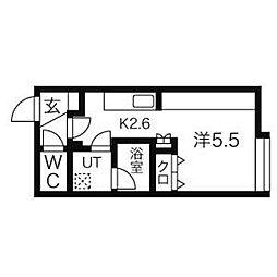 KIRA[1階]の間取り