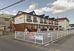 栃木県宇都宮市上戸祭3丁目の賃貸アパートの外観