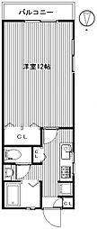 KGハイツIV[201号室号室]の間取り