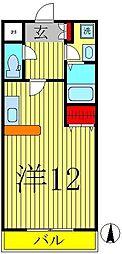 モアルヤタ藤[316号室]の間取り