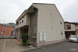 広島県福山市加茂町字中野の賃貸アパートの外観