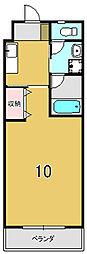 CasaGrande西賀茂[108号室]の間取り