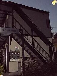 東京都北区滝野川4の賃貸アパートの外観