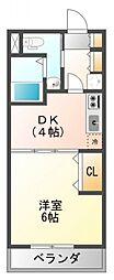 ドライバウム江坂[8階]の間取り