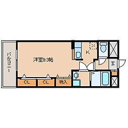 兵庫県尼崎市大島3の賃貸マンションの間取り