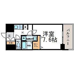 エクセルコート昭和通ブライトプレイス[10階]の間取り