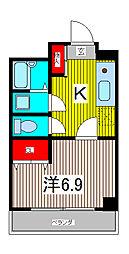 第二芝崎ビル[2階]の間取り