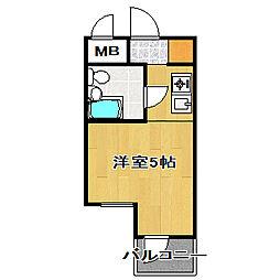 TOP・船橋第1[302号室]の間取り