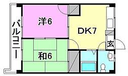 スペース21[303 号室号室]の間取り