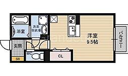 ハーフタイムIMAZU(イマズ)[1階]の間取り