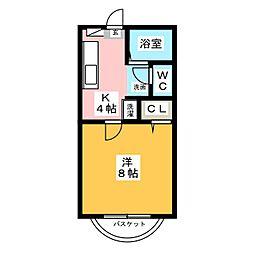 メイプルIII[2階]の間取り