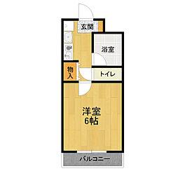 サンノーブルI[2階]の間取り