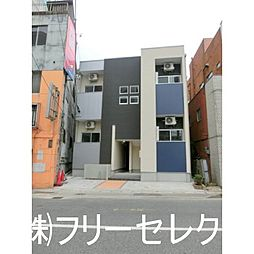 福岡県福岡市博多区銀天町1の賃貸アパートの外観