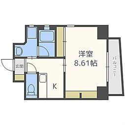 シーダプレイスII[5階]の間取り