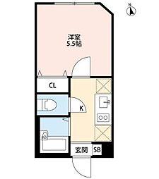パークFLATS桜川 〜パークフラッツサクラガワ〜[3階]の間取り