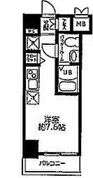 LUMEED横浜阪東橋[8階]の間取り