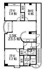 CURAMO[3階]の間取り