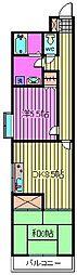 Ark WARABI[401号室]の間取り