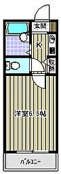 豊川マンション[3階]の間取り