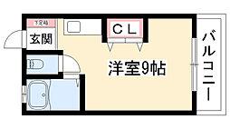 メゾン小嶋[403号室]の間取り