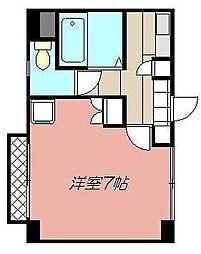 クレスト黒崎[407号室]の間取り