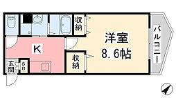 石手川公園駅 3.9万円