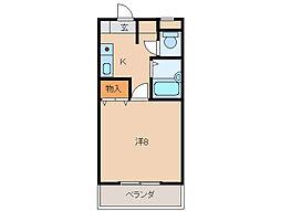 メゾン貴志[2階]の間取り