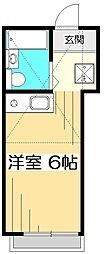 ピア国分寺[1階]の間取り