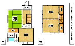 [一戸建] 福岡県北九州市小倉南区志井4丁目 の賃貸【/】の間取り