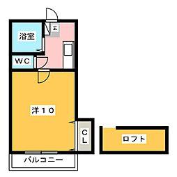 プチハウス[2階]の間取り