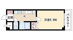 グレイスコート元郷[2階]の間取り