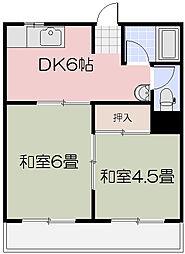 NEWさぬき荘[1階]の間取り