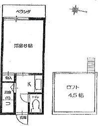 M8-II[2階]の間取り