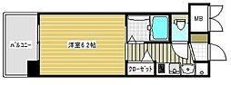 エステムコート神戸ハーバーランド前3コスタリティ[3階]の間取り