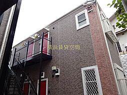 ハーミットクラブハウス赤い扉[2階]の外観