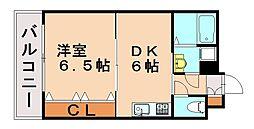リファレンス笹丘[4階]の間取り