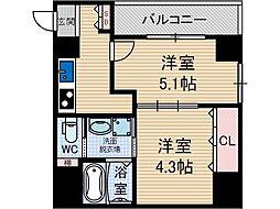 Navi3[8階]の間取り