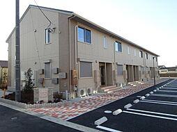 茨城県守谷市本町の賃貸アパートの外観