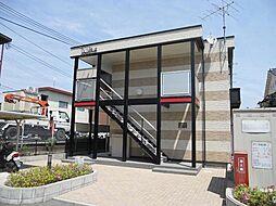 奈良県天理市指柳町の賃貸アパートの外観