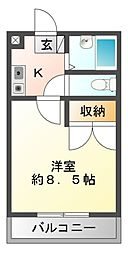 彩雅[2階]の間取り