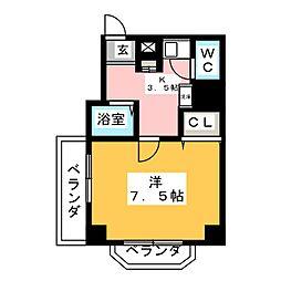 プロビデンス栄[3階]の間取り
