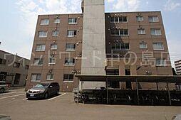北海道札幌市豊平区平岸二条5丁目の賃貸マンションの外観