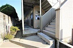 千葉県船橋市習志野台5丁目の賃貸アパートの外観