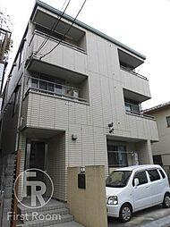 東京都大田区蒲田1丁目の賃貸アパートの外観